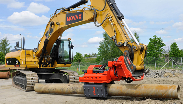 Side-Grip Pile Drivers | Premier Rock Machinery | Attach yourself to